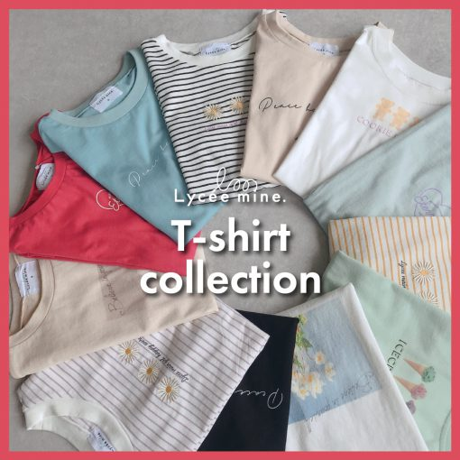 〈140㎝・150㎝〉T-shirt collection