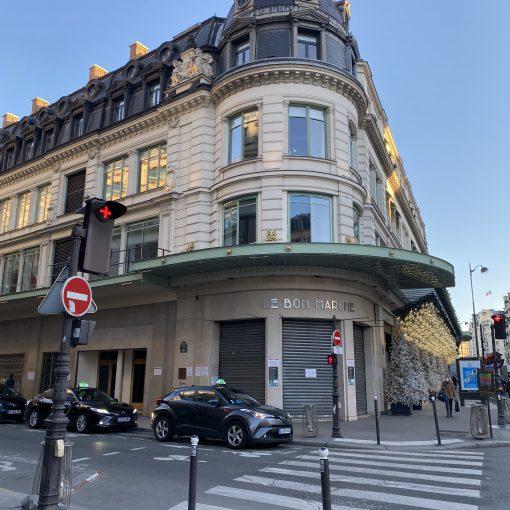Parisでのお買い物
