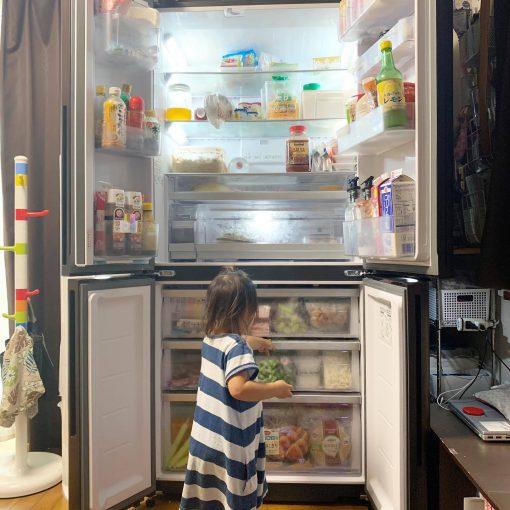 新しい冷蔵庫♪