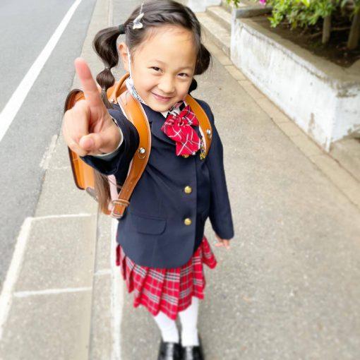 テンション高めの入学式