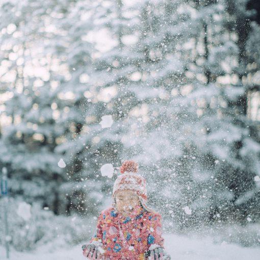 雪遊びの季節到来