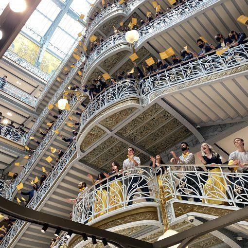 16年ぶりにopen パリの老舗百貨店