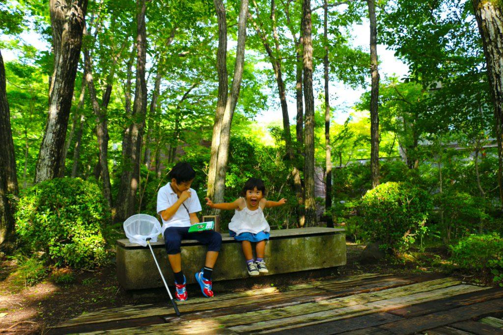 リゾナーレ那須 星野リゾート 那須 子連れ旅行 家族旅行 子連れ 虫探し ホテル おすすめホテル