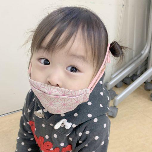 小さい子のマスクと健診