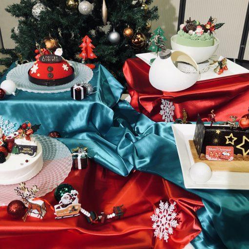 クリスマスケーキどれにする?