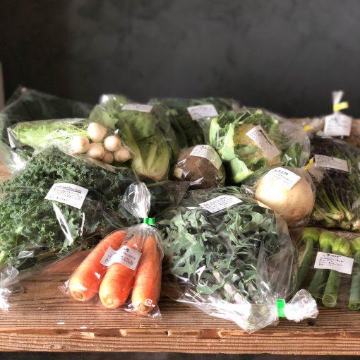 在来野菜の宅配[Recipe:お芋のから揚げと天ぷら]