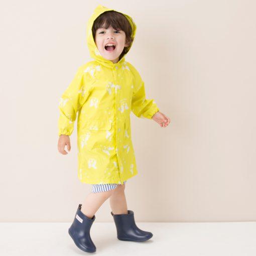 プティマインのレインコートで雨の日もオシャレに出掛けよう!